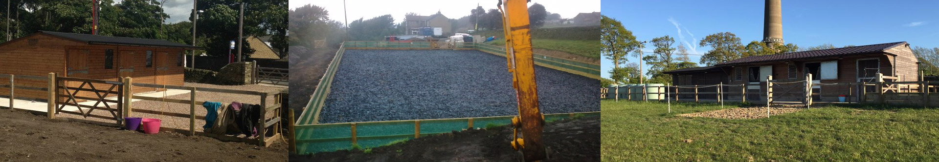 Equestrian Groundworks & Stable Builders West Yorkshire